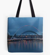 Tyneside Sunset Tote Bag