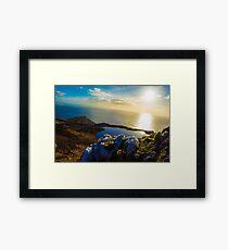 Quartz on the mountain Framed Print