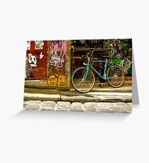 Melbourne Graffiti - Hosier Lane Greeting Card