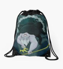 Queen of the Sea Drawstring Bag