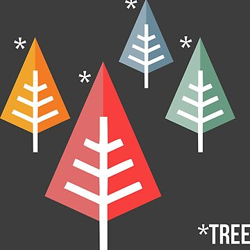 asterisk tree by tomes012
