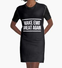 db53b91ee Make Emo Great Again Graphic T-Shirt Dress