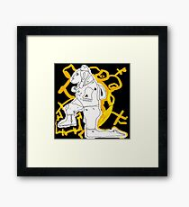 Knee (all we are) Framed Print