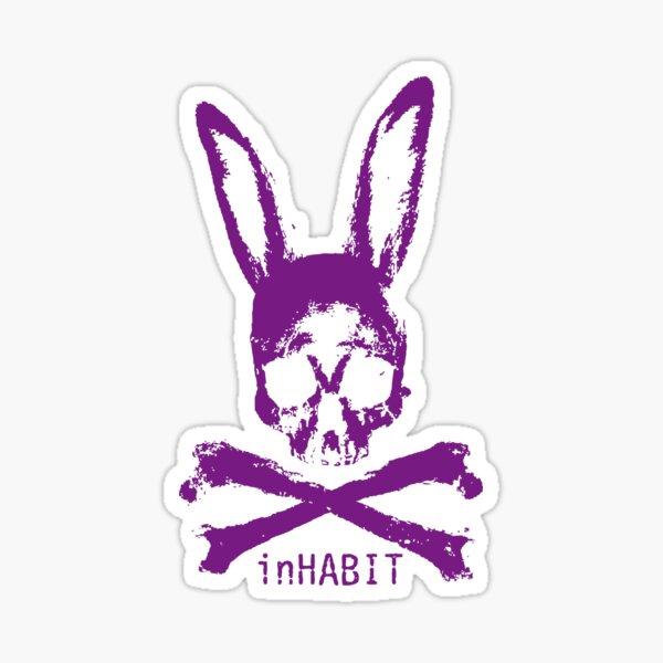 ...and so we inHABIT (purple) Sticker
