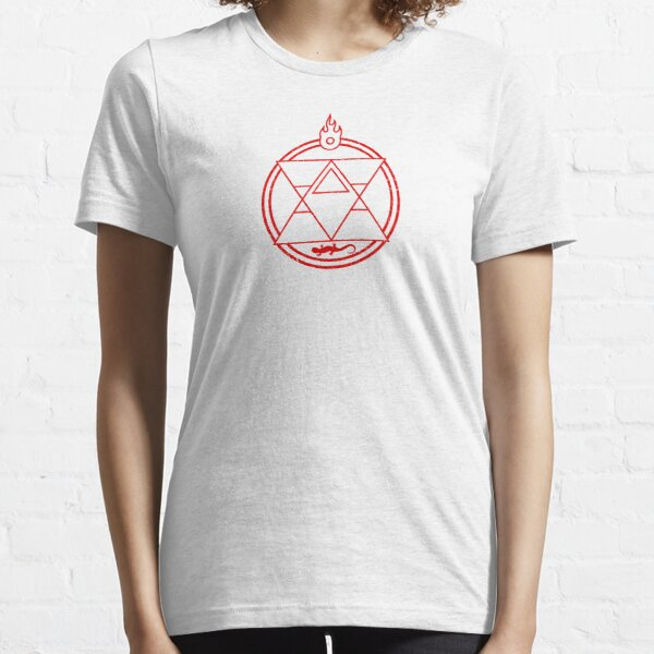 Flame Transmutation Circle - Roy Mustang Essential T-Shirt
