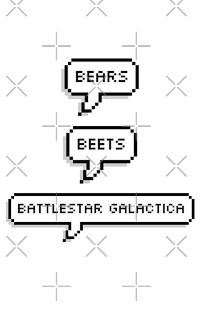 bears, beets, battlestar galactica by Kaleigh Nolan