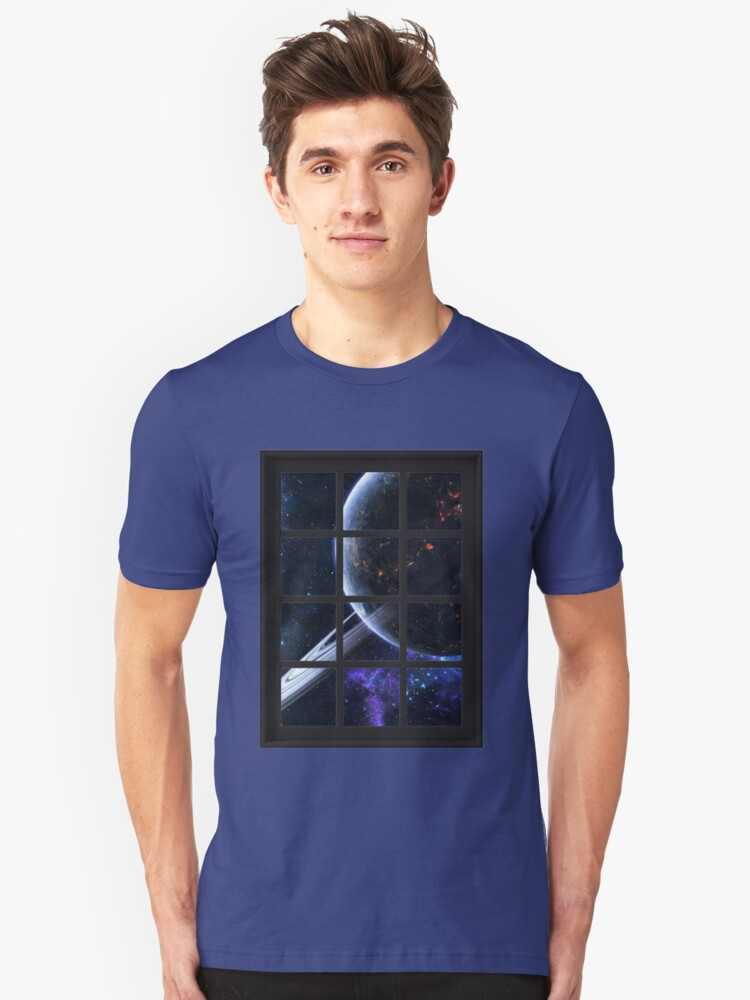 Universe Astronomy Outer Space Planets 8 Unisex T-Shirt Front
