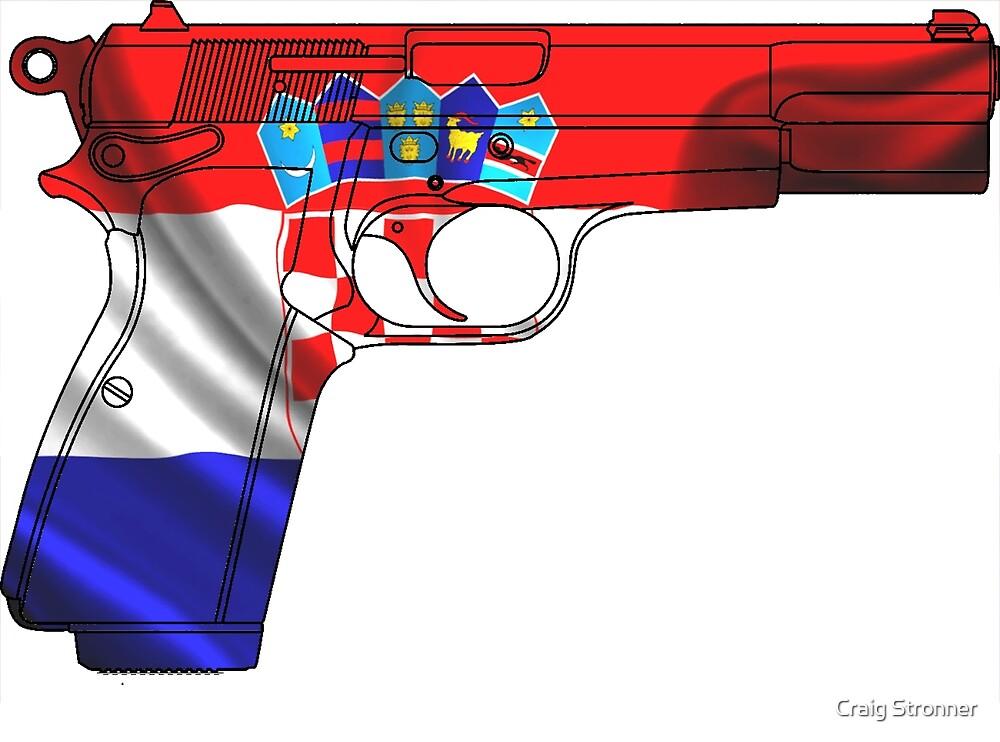 Croatian Handgun by Craig Stronner