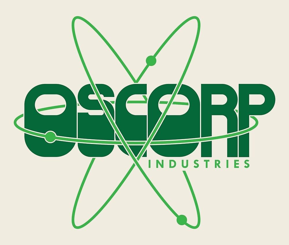 Retro Oscorp Logo by JungleBri
