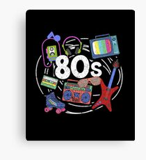 Awesome Retro 80s Throwback Canvas Print