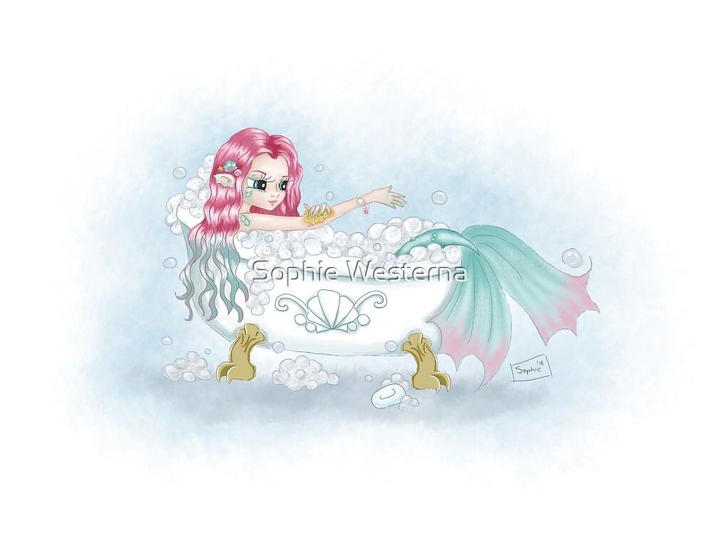 Bathtime Mermaid by Sophie Westerna