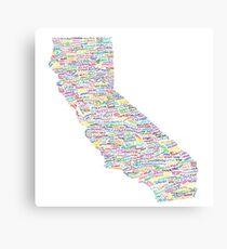 California Vibes Canvas Print