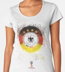 FIFA Germany - Russia FIFA World Cup 2018 Women's Premium T-Shirt