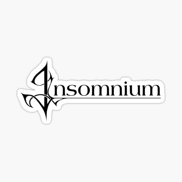 Insomnium Sticker