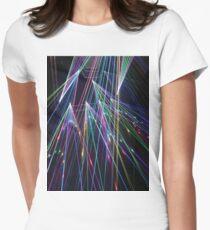 ART BLUR 3 Pop Art Women's Fitted T-Shirt