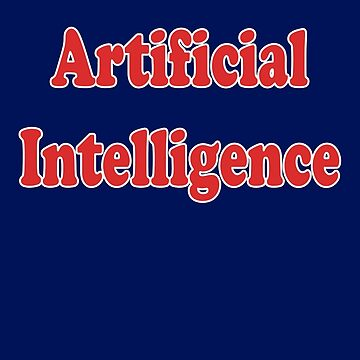 Artificial Intelligence - AI Tee by stickersandtees