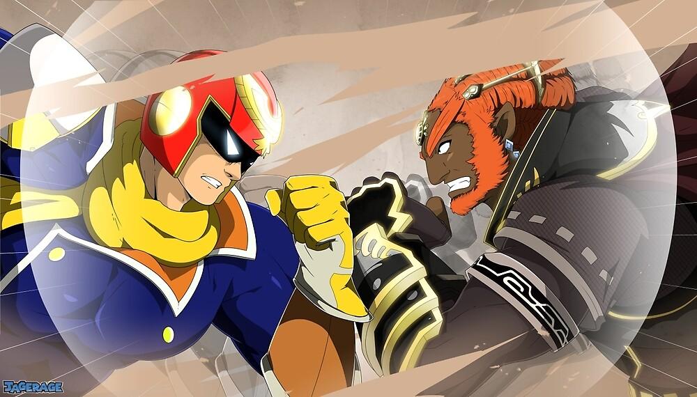 Nintendo FighterZ by JageRage