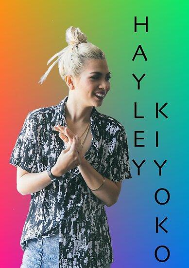 Hayley Kiyoko rainbow  by AlishaBurden00