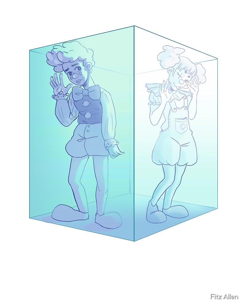 clown cube by thelittlestfitz