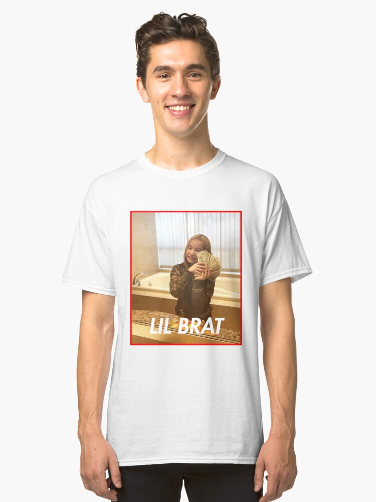 Lil tay: brat Classic T-Shirt Front