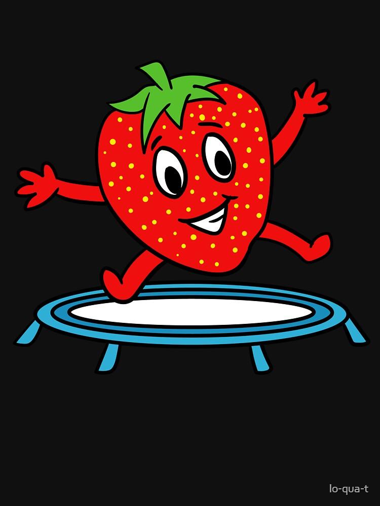 Strawberry On Trampoline by lo-qua-t