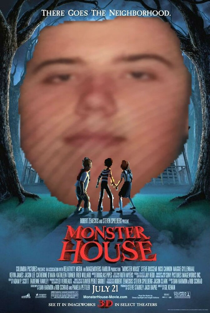 Longface Monster House by aidanhattersley