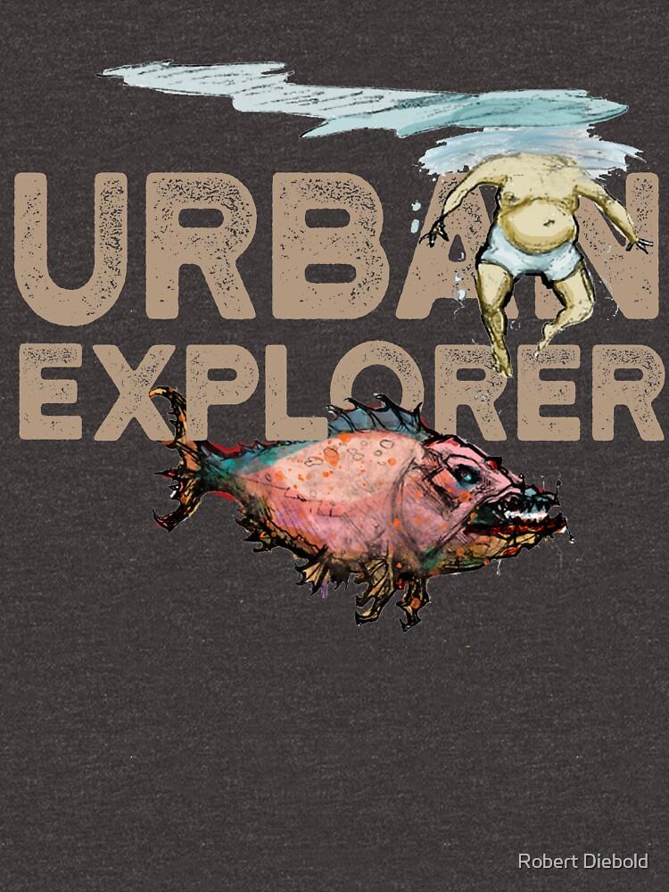 Urban Explorer Nightlife City Living Shirts by manbird