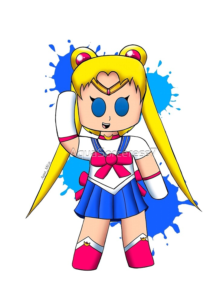 Sailor Moon Usagi Fanart (Chibi) by AquaSorceress7