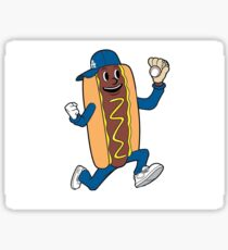 Dodger Dog Sticker