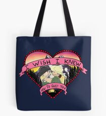 Wish I Knew How To Quit You Tote Bag
