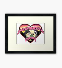 Wish I Knew How To Quit You Framed Print