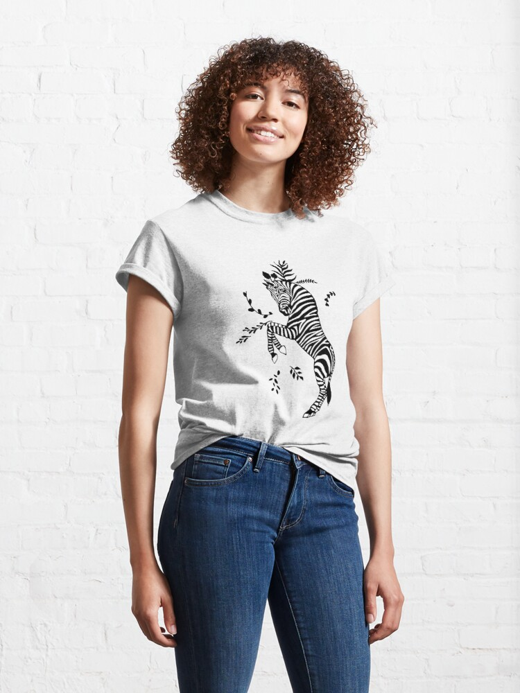 Alternate view of Zebra Classic T-Shirt