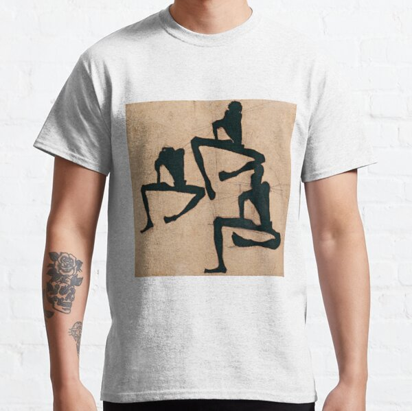 "Egon Schiele ""Composition with Three Male Nudes"" Classic T-Shirt"