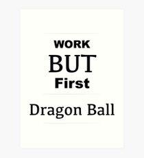 Chemise de travail Dragon Ball drôle - Love Dragon Ball Shirt - T-shirt Love Dragon Ball - T-shirt Love Dragon Ball - Impression artistique