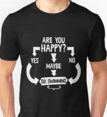 Yes:No:Maybe Go Swimming Unisex T-Shirt