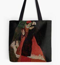 """Egon Schiele """"Cardinal and Nun (Caress)"""" Tote Bag"""