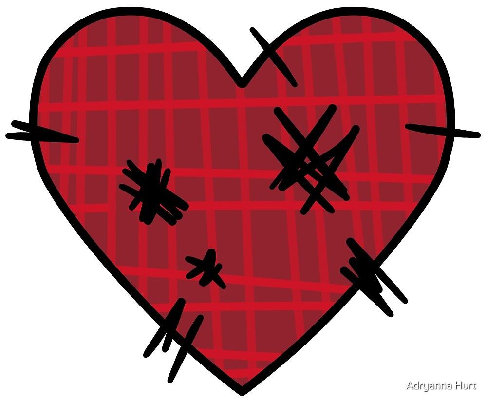 ALH Designs: Stitched Heart by Adryanna Hurt