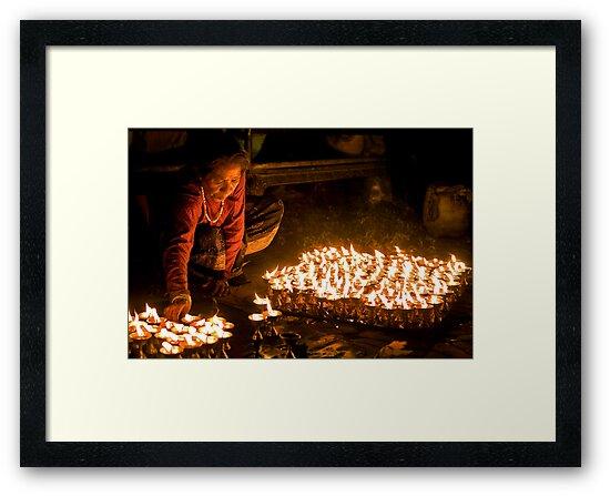 Lamp Lighter by Rene Edde