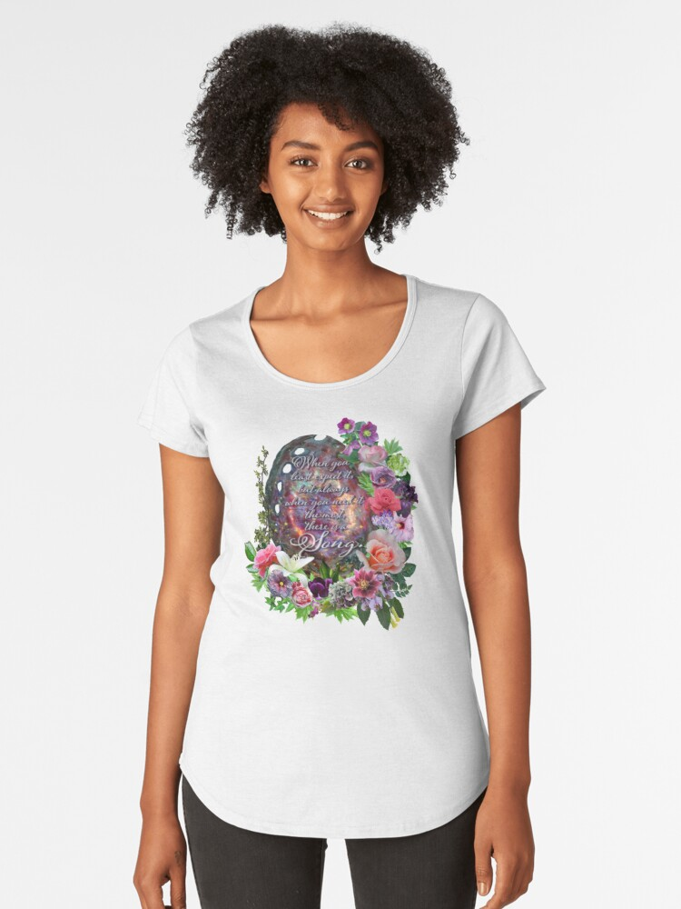 The Perfect Melody Women's Premium T-Shirt Front