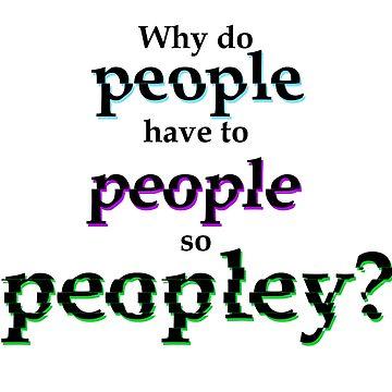 People by KaySlominator