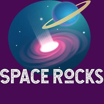 Funny Space Rocks by srnrvs