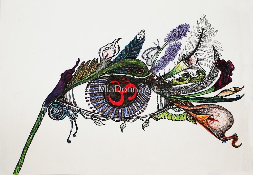 Flora Fauna Eye of the Beholder  by MiaDonnaArt