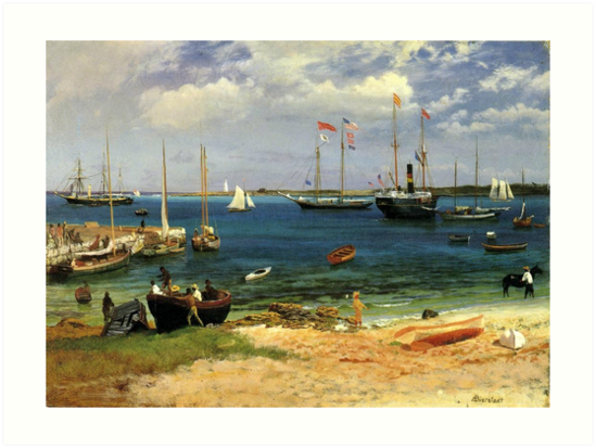 Bierstadt - Nassau Harbor by virginia50
