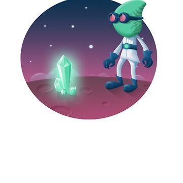 Space Alien Weirdo by srnrvs