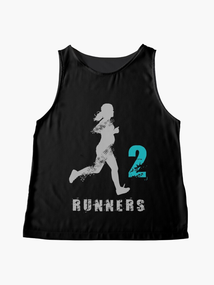 Alternate view of 2 runners in 1 Sleeveless Top