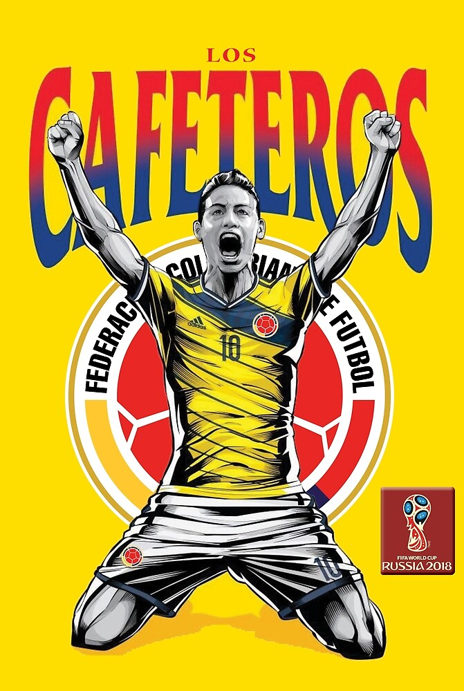 2018 World Cup Soccer Russia | TEAM COLOMBIA by RewardDesign