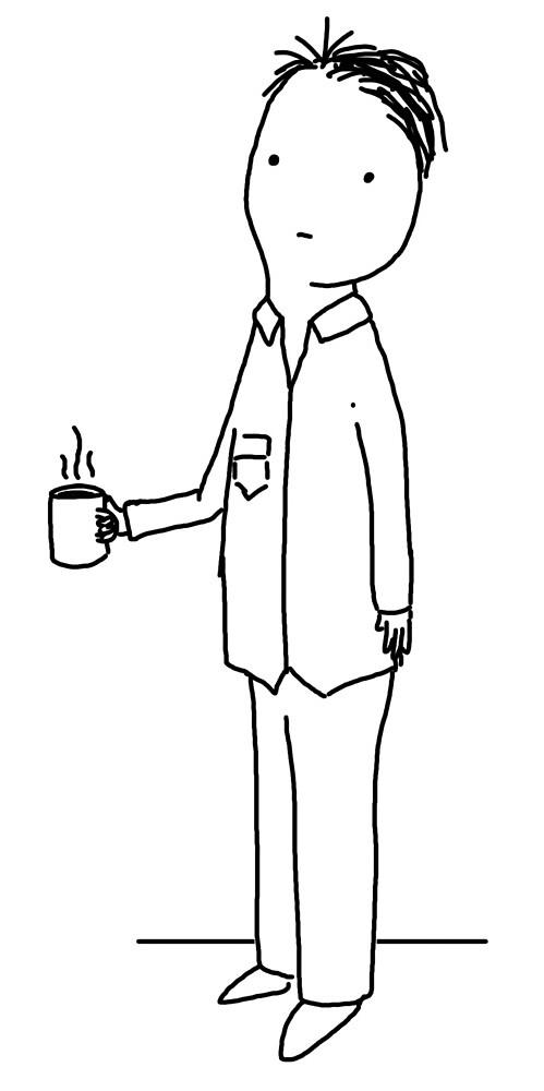 it is coffee time immediately from now by Jordan Matelsky