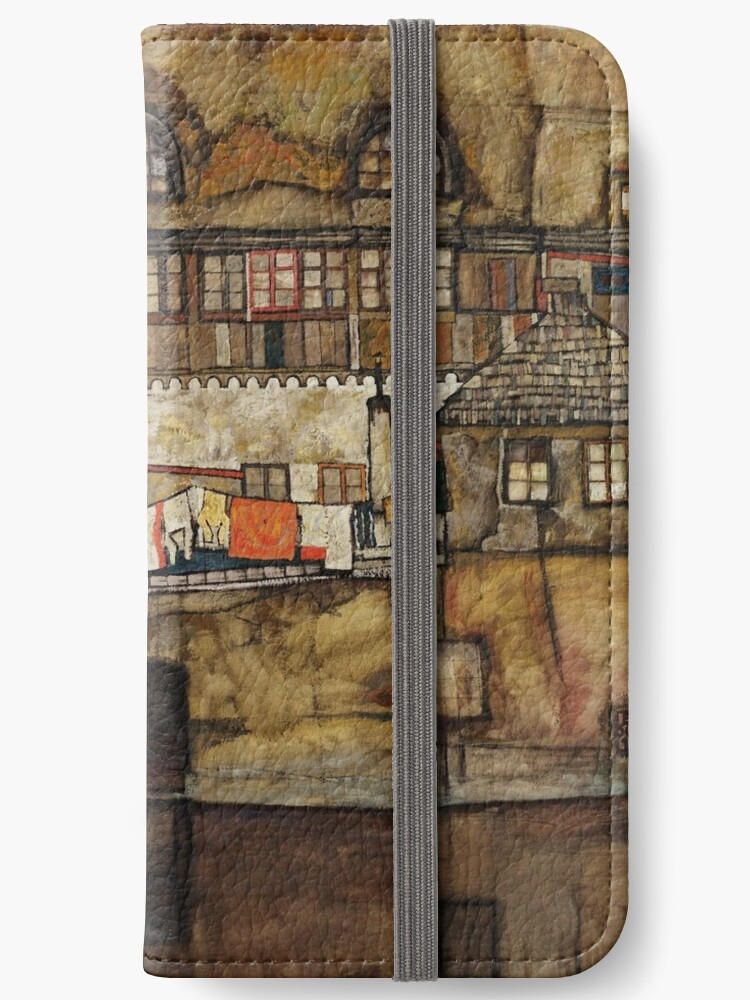 "Egon Schiele ""House Wall on the River"" by Alexandra Dahl"