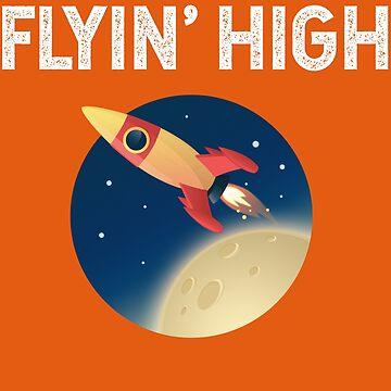 Spaceship Flying High by srnrvs