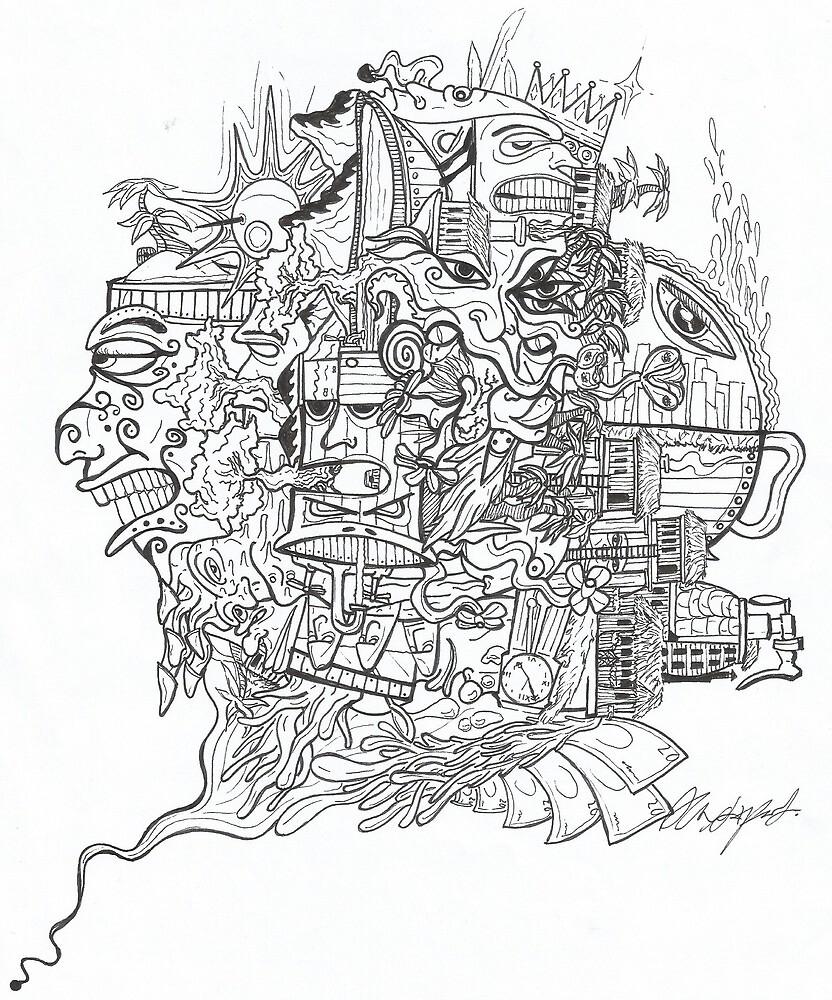 HYPNOTIZED ARTWORK by AXL'ARTS A.Lapointe